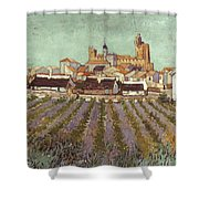Van Gogh: Saintes-maries Shower Curtain