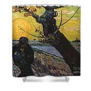 Van Gogh: Sower, 1888 Shower Curtain