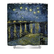 Van Gogh, Starry Night Shower Curtain