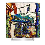 Van Gogh Takes A Wrong Turn And Discovers The Castro In San Francisco . 7d7547 Shower Curtain