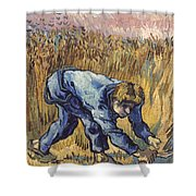 Van Gogh: The Reaper, 1889 Shower Curtain