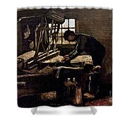 Van Gogh: Weaver, 1884 Shower Curtain
