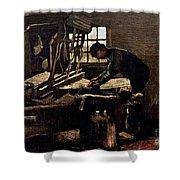 Van Gogh: Weaver, 1884 Shower Curtain