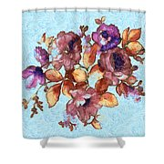 Van Gogh's Garden Shower Curtain