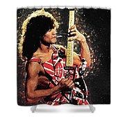 Van Halen Shower Curtain