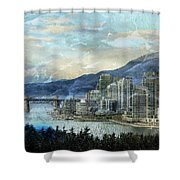Vancouver-1 Shower Curtain