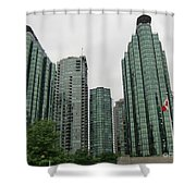 Vancouver City Canada Shower Curtain