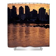 Vancouver From Stanley Park I Shower Curtain