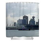 Vancouver Harbour Shower Curtain