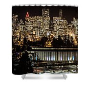 Vancouver Lights Shower Curtain