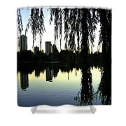 Vancouver- Lost Lagoon Shower Curtain by Will Borden