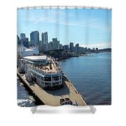 Vancouver01 Shower Curtain