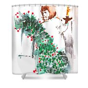 Vanessa IIi Shower Curtain