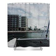Varadero Marina Shower Curtain