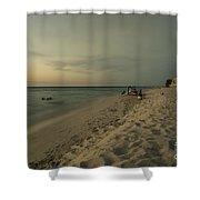 Varadero Ocean  Shower Curtain