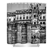 Varanasi Bw Shower Curtain