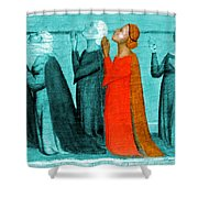 Variation On An Alterpiece Shower Curtain