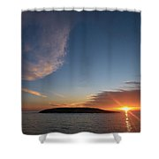 Variations Of Sunsets At Gulf Of Bothnia 2 Shower Curtain
