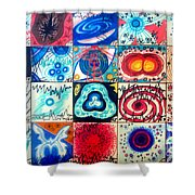 Variety Of Space Galaxies Stars Anomalies. Part 3 Shower Curtain