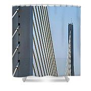 Varina Enon Bridge In Va Shower Curtain