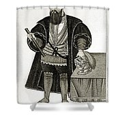 Vasco Da Gama, Portuguese Explorer Shower Curtain