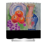 Vase For Table Shower Curtain
