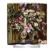 Vase Of Flowers, 1871  Shower Curtain