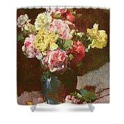 Vase Of Flowers Shower Curtain