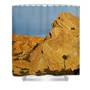 Vasquez Rocks State Park, Sunset Shower Curtain