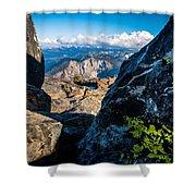 Vastly Majestic High Sierras Shower Curtain