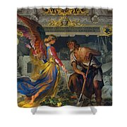 Vatican Art II Shower Curtain