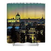 Vatican At Sunset Shower Curtain