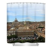 Vatican In Spring Shower Curtain