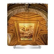 Vatican Museum Painted Ceiling Shower Curtain