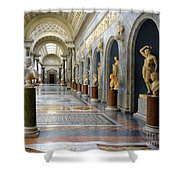 Vatican Museums Interiors Shower Curtain by Stefano Senise