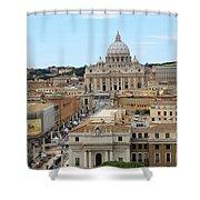 Vatican Rome Shower Curtain