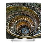 Vatican Staircase Shower Curtain