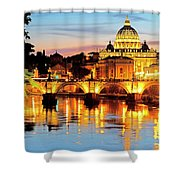 Vatican's St. Peter's Shower Curtain