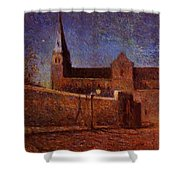 Vaugirard Church 1879 Shower Curtain