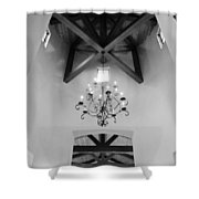 Vaulted Ceiling Shower Curtain