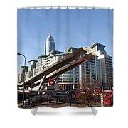Vauxhall Station Shower Curtain