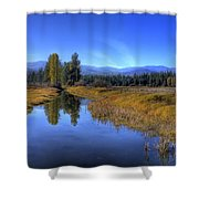 Vay Road Ditch 5 Shower Curtain