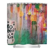 Be Different Shower Curtain