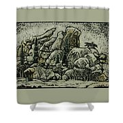 Vedauwoo Shower Curtain