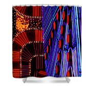 Vegas Lights Shower Curtain