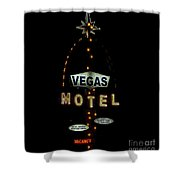 Vegas Motel  Shower Curtain