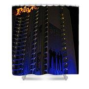 Vegas Plaza Shower Curtain