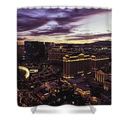 Vegas Sunset Shower Curtain