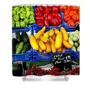 Vegetables Shower Curtain