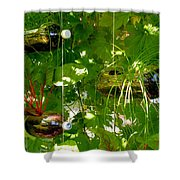 Vegetables Plant For Urban Life 1 Shower Curtain